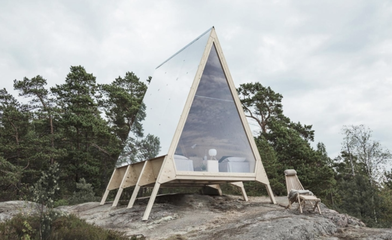 Nolla: a mobile cabin made without a wisp of a carbon footprint
